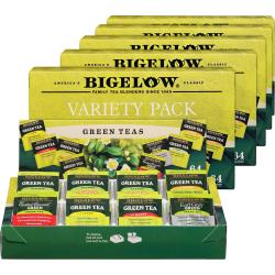 Bigelow Assorted Green Tea Tray Pack - Green Tea - 384 / Carton