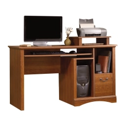 Sauder® Camden County Computer Desk, Planked Cherry
