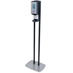 "Purell® CS6 Touch-Free Dispenser Floor Stand, 28-1/2""H x 13-1/2""W x 5""D, Graphite"