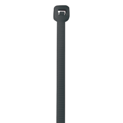 """Office Depot® Brand Color Cable Ties, 11"""", Gray, Case Of 1,000"""