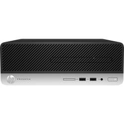 HP Business Desktop ProDesk 400 G6 Desktop Computer - Core i3 i3-9100 - 4 GB RAM - 256 GB SSD - Small Form Factor - Windows 10 Pro 64-bit - Intel UHD Graphics 630 - English Keyboard