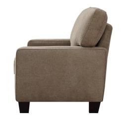 "Serta® Deep-Seating Palisades Sofa, 78"", Tan/Espresso"