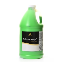 Chroma Chromacryl Students' Acrylic Paint, 0.5 Gallon, Light Green