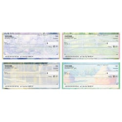 "Personal Wallet Checks, 6"" x 2 3/4"", Duplicates, Art On Canvas, Box Of 150"
