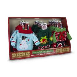 DM Merchandising Bundle Up Bottle Beanie And Scarf Set, Multicolor