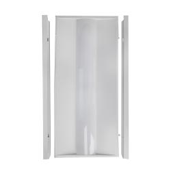 James LED Troffer Magic Retrofit Door Kit 2x4, 36 Watts, 4000K, 5000 Lumens, 120-277V