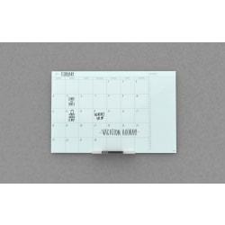 "U Brands Frameless Floating Dry-Erase Calendar Board, 36"" x 48"", Frosted White"