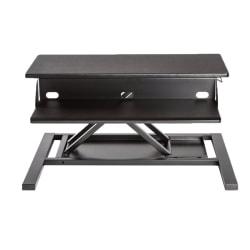 Luxor Two-Tier Pneumatic Standing Desk Converter