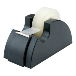 """75% Recycled Tape Dispenser, 1"""" Core, Black (AbilityOne 7520-00-240-2411)"""