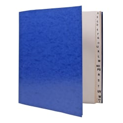 "SKILCRAFT® Book-Style A-Z Work Organizer File, 8 1/2"" x 11"", Letter Size (AbilityOne 7520-00-286-1726)"