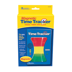 """Learning Resources® Magnetic Time Tracker®, 5""""H x 1 1/2""""W x 7""""D, Grades Pre-K - 9"""
