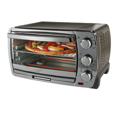 Oster® Countertop Convection Toaster Oven, Silver