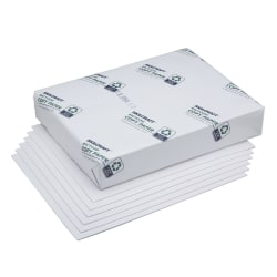 """SKILCRAFT® Bond And Writing Paper, Type IV, 20 Lb, 8 1/2"""" x 11"""", White, Case Of 10 Reams (AbilityOne 7530-00-290-0617)"""