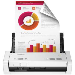 Brother® Compact Portable Color Desktop Scanner, ADS-1200