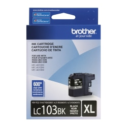 Brother® LC103BK Black Ink Cartridge