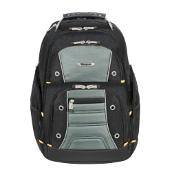 Targus® Drifter II Laptop Backpack, Black