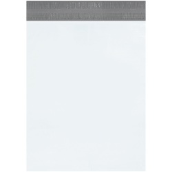 """Office Depot® Brand Returnable Poly Mailers, 19"""" x 24"""", White, Case Of 100"""
