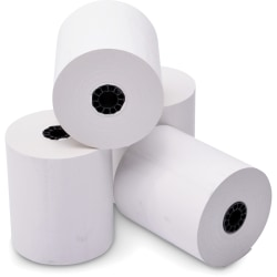 "ICONEX Thermal Receipt Paper - 3 1/8"" x 230 ft - 50 / Carton - White"