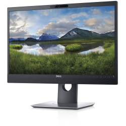 """Dell P2418HZ 23.8"""" Full HD LED LCD Monitor - 16:9 - Black - 24"""" Class - In-plane Switching (IPS) Technology - 1920 x 1080 - 16.7 Million Colors - 250 Nit - 6 ms - 60 Hz Refresh Rate - HDMI - VGA - DisplayPort - Speaker, Microphone, USB Hub"""
