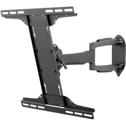 "Peerless-AV SmartMount SA746PU Mounting Arm for Flat Panel Display - Black - 32"" to 50"" Screen Support - 80 lb Load Capacity"