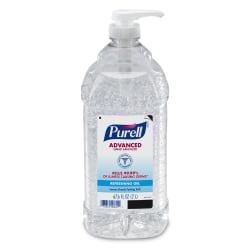 PURELL® Advanced Hand Sanitizer Refreshing Gel, Clean Scent, 2-Liter Pump Bottle (Pack of 1)