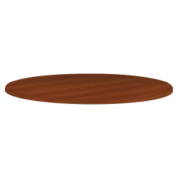 HON® Conference Table Top, Round, Cognac