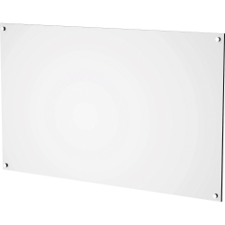 """Lorell White Acrylic Dry-erase Board - 16"""" (1.3 ft) Width x 0.2"""" (0 ft) Height - White Acrylic Surface - Rectangle - Horizontal/Vertical - Wall Mount - Assembly Required - 1 Each"""
