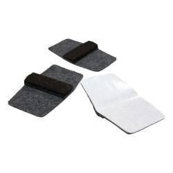 Lorell® Wraparound Floor Savers, Gray, Pack Of 100 Floor Savers