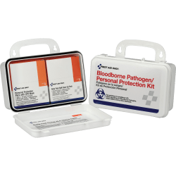 First Aid Only® Bloodborne Pathogen/Personal Protection Kit, 28-Piece