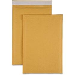 "Sparco Size 3 Bubble Cushioned Mailers - Bubble - #3 - 8 1/2"" Width x 14 1/2"" Length - Self-sealing - Kraft - 100 / Carton - Kraft"