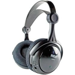 RCA Black Wireless 900MHz Full-Size Headphones
