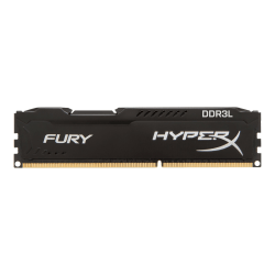 HyperX FURY - DDR3L - 8 GB: 2 x 4 GB - DIMM 240-pin - 1866 MHz / PC3L-14900 - CL11 - 1.35 / 1.5 V - unbuffered - non-ECC - black