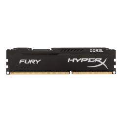 HyperX FURY - DDR3L - kit - 8 GB: 2 x 4 GB - DIMM 240-pin - 1866 MHz / PC3L-14900 - CL11 - 1.35 / 1.5 V - unbuffered - non-ECC - black