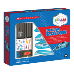 Scholastic STEAM Solar Racer Activity Kit, Grades 2 To 5