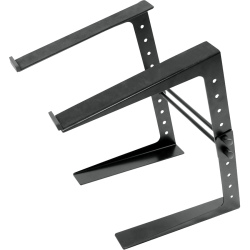 """PylePro Laptop Computer Stand For DJ - 8 lb Load Capacity - 10.9"""" Height"""