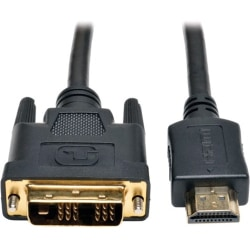Tripp Lite 30ft HDMI to DVI-D Digital Monitor Adapter Video Converter Cable M/M 30' - (HDMI to DVI-D M/M) 30-ft.