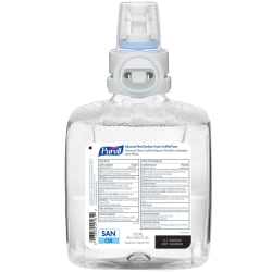 Purell® Advanced Green Certified Foam Hand Sanitizer Refill For CS8 Touch-Free Hand Sanitizer Dispensers, Unscented, 40.6 Oz, Case Of 2 Refills