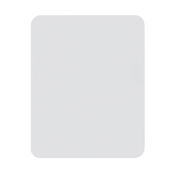 """Flipside Double-Sided Magnetic Unframed Dry-Erase Whiteboards, 9"""" x 12"""" x 1/8"""", White, Pack Of 3"""