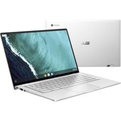 "Asus Chromebook Flip C434TA-DSM4T 14"" Touchscreen 2 in 1 Chromebook - 1920 x 1080 - Core M m3-8100Y 1.10 GHz Dual-core (2 Core) - 4 GB RAM - 64 GB Flash Memory - Spangle Silver, Black - Chrome OS - Intel UHD Graphics 615"