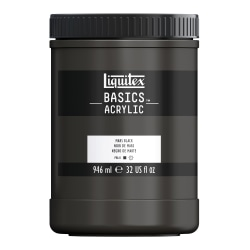 Liquitex Basics Acrylic Paint, 32 Oz Jar, Mars Black