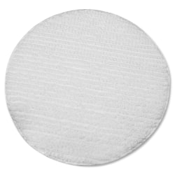 "Impact Products Low Profile Carpet Bonnet - 6/Carton - 19"" Width x 19"" Depth - Polyester - White"