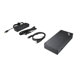 Lenovo ThinkPad USB-C Dock - Docking station - USB-C - VGA - GigE - 90 Watt - for ThinkPad L14 Gen 2; L15 Gen 2; P14s Gen 2; P15s Gen 2; T14 Gen 2; X13 Yoga Gen 2