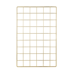 Realspace® Gold Wire Hanging Organizer System, Base Panel