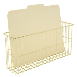 Realspace® Gold Wire Hanging Organizer System, Letter File Attachment