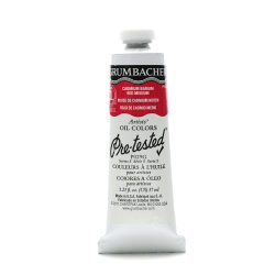 Grumbacher P029 Pre-Tested Artists' Oil Colors, 1.25 Oz, Cadmium Barium Red Medium