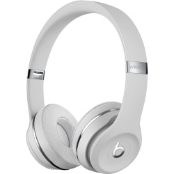 Beats by Dr. Dre Solo3 Wireless Headphones - The Beats Icon Collection - Satin Silver - Stereo - Wireless - Bluetooth - Over-the-head - Binaural - Circumaural - Satin Silver