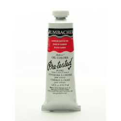 Grumbacher P030 Pre-Tested Artists' Oil Colors, 1.25 Oz, Cadmium Barium Vermilion