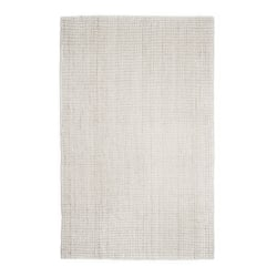 Anji Mountain Andes Jute Rug, 10' x 14', Ivory