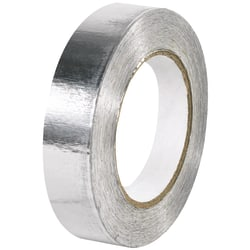 """B O X Packaging Industrial Aluminum Foil Tape, 3"""" Core, 1"""" x 60 Yd., Silver"""