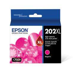 Epson® T202XL320-S High-Yield Magenta Ink Cartridge